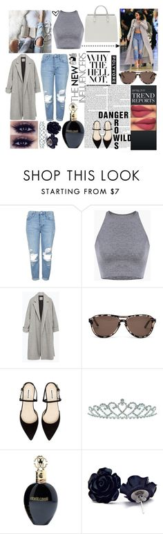 """kylie jenner"" by jona-zaloznik ❤ liked on Polyvore featuring Topshop, Zara, Comfort Zone, STELLA McCARTNEY, Kate Marie and Roberto Cavalli"