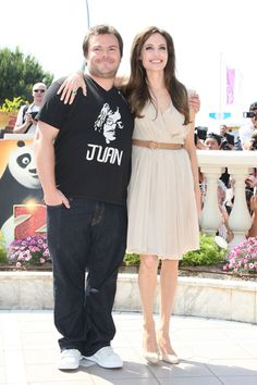 Angelina Jolie and Jack Black at Cannes!