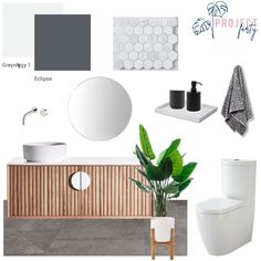 Powder Room, Monochrome, Photo And Video, Modern, Instagram, Home Decor, Trendy Tree, Decoration Home, Monochrome Painting