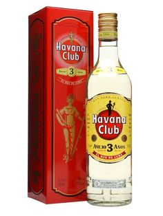 Havana Club 3 Year Old Rum / Anejo : Buy Online - The Whisky Exchange - Probably the most prestigious light Cuban rum, Havana Club 3 year old infuses an extra touch of quality into rum cocktails and is great with just about any mixer we can think of. £18.25