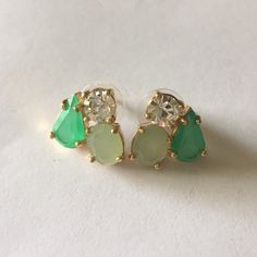Kate Spade green cluster studs Kate Spade green cluster studs kate spade Jewelry Earrings