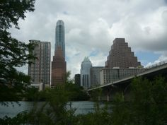 Congress St Bridge in Austin Texas.