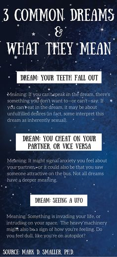 Sexual dream meanings