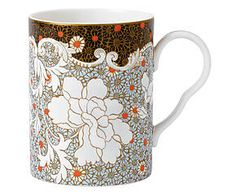 Mug DAISY TEA STORY II porcelaine de Chine, multicolore - 200 ml