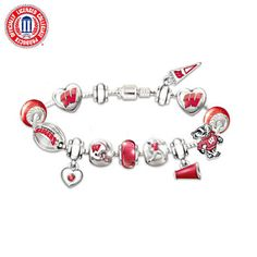 Wisconsin Badgers Charms-Cindi