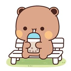 Panda Gif, Panda Bear, Cute Bunny Cartoon, Little Panda, Cartoon Gifs, Cute Bears, Cute Images, Cute Gif, Creative Crafts