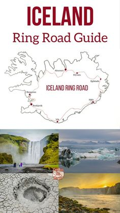 Iceland Ring Road Travel Guide - plan your drive around Iceland with some of the best stops along the Ring Road - Godafoss, Jokulsarlon, Skogafoss... | #iceland #icelandtravel #inspiredbyiceland | Iceland itinerary | Iceland things to do | Iceland Travel Guide