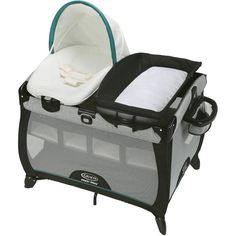 Pack N Play Baby Bed Bassinet Diaper Changer Travel Portable Playpen Napper  #Graco