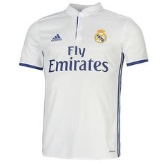 Men 123490  Real Madrid 2016 - 2017 Home Jersey Adidas Original Official -   BUY 5bef887be
