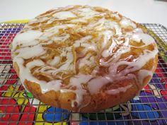 Queen of the Armchair aka Dzintra Stitcheries......Lemon Honey and Almond Cake