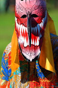 Phi Ta Khon or Thailand's Ghost Festival at Dan Sai, Loei - Thailand