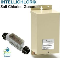 Pentair IntelliChlor - Electrolytic Chlorine Generation is the easiest, most effective and convenient way to keep pool water properly sanitized and sparkling clean.