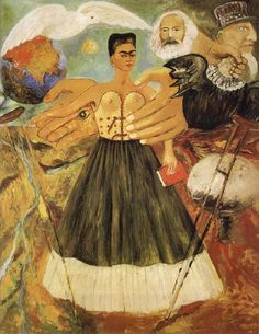 Frida Kahlo Abstract oil painting picture