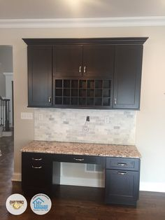 Fabuwood Galaxy Espresso and Frost #kitchen built by My House Kitchen Tile and Bath located in Union, NJ     Designer: Bora