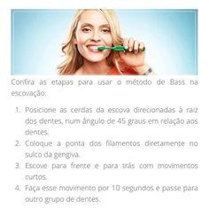 Bom dia. Aprenda a técnica de Bass para escovar seus dentes simples e eu super indico! (62)39454273. by walquirialacerda_odontologia http://ift.tt/251R5yx