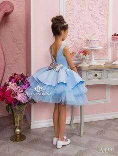 Girls Pageant Dresses, Girls Party Dress, Prom Dresses Blue, Little Girl Dresses, Baby Dress, Cute Dresses, Beautiful Dresses, Flower Girl Dresses, Dresses For Girls