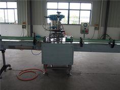 Aerosol filling machine for release agent     More: https://www.aerosolmachinery.com/sale/aerosol-filling-machine-for-release-agent.html
