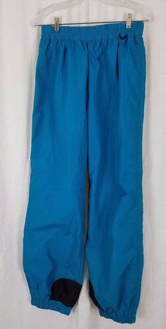 Vintage 80s 90s Columbia Pull On All Weather Ski Snowboard Winter Pants Womens L #Columbia