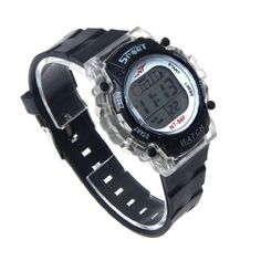 Outdoor Watch,Colorful FUNIC LED Electronic Sports Watch(Black) * This is an Amazon Affiliate link. Read more reviews of the product by visiting the link on the image.