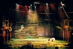 Jungle Book. Haymarket Theatre Company. Scenic design by Elroy Ashmore. 2000