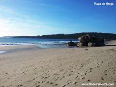 Playa de Nerga con la Playa de Viñó y la Playa de Barra al fondo