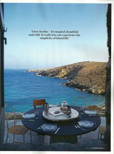 Paola Navone's summer refuge on the Greek island of Serifos (a feature in Elle Decoration, August 2010