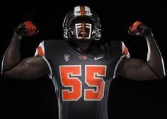 Leave it to Beaver gets a solid overhaul, and this is a winner save a few minor tweaks I would make - Oregon State Athletics unveils new brand identity - College Football Uniforms, Sports Uniforms, Nike Football, Football Jerseys, Football Helmets, Sports Teams, Oregon State Beavers Football, Collage Football, American Football