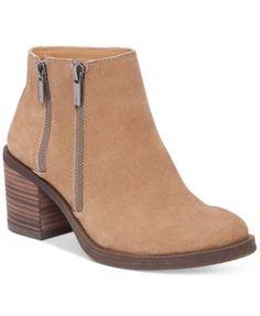 Lucky Brand Women's Roquee Zippered Booties | macys.com