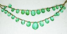 30.60 Ct Fine Natural Emerald Columbian Drops Necklace UnTreated Loose Gemstone #RareGemIN