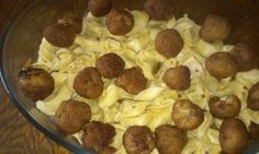 Try the Tortellini with vegan meatballs https://www.facebook.com/789110587851535/photos/a.789428487819745.1073741828.789110587851535/790063101089617/?type=1&theater