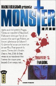 Urasawa, Naoki. Monster, tome 13 : Évasion, Kana, 2007 Cote BD