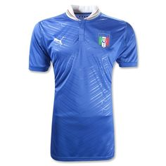 Italy 2012 Authentic Home Soccer Jersey