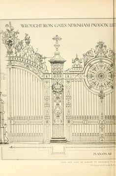 English ironwork of the XVIIth & XVIIIth centur...