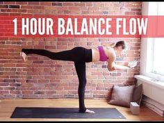 1 hour Vinyasa Flow for Balance & Stability - 60 min Yoga Workout - YouTube