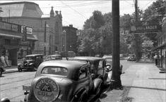 4th & Oak Streets looking west on Oak, Louisville, Ky., 1937