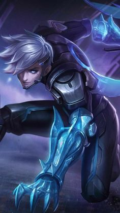 Mobile Legend Wallpaper, Hero Wallpaper, League Of Legends Poster, Miya Mobile Legends, Iphone Wallpaper Landscape, Moba Legends, Alucard Mobile Legends, Tokyo Ghoul Wallpapers, Legend Games