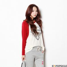 Stingray Diamond T-Shirts - Top | Women's clothing & accessories - online fashion store of Korean, Japanese and all Asian style