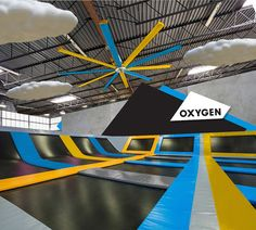Oxygen Freejumping – A Giant Trampoline Park (London)