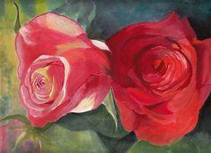 watercolor rose tattoo - Google Search