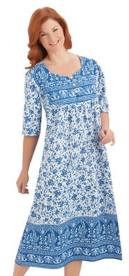 Floral Paisley Dress- Collections INC