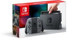 Nintendo Switch Console - 32GB - Grijs 299.99 bol.com