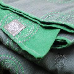 Green-grey babywrap