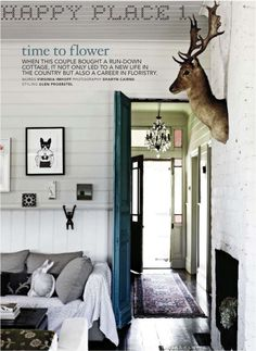 bliss blog - my happyplace: country cottage via country style