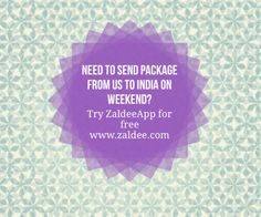 Zaldee® connects travelers and shippers: Traveler - earn while you travel® by utilizing excess baggage space available with you while traveling. Shipper - Ship your package to anyone anywhere anytime. Ship On Demand® Free Travel, Cheap Travel, Budget Travel, Send Package, Excess Baggage, Sharing Economy, Backpacking, Traveling By Yourself, Packaging