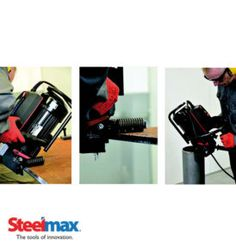 Steelmax expanding the product line to cover many more aspects of metal fabrication  from cutting and drilling to plate,pipe beveling machines. You can buy online at affordable price.
