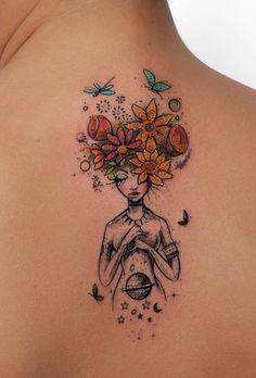 Awesome Back Tattoo #AwesomeTattoos