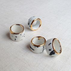 ruby pilven porcelain ring