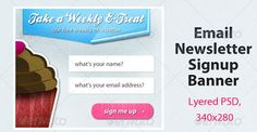 Email Newsletter PSD Template