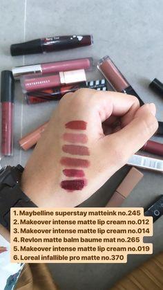Makeup Dupes, Skin Makeup, Beauty Skin, Beauty Makeup, Maybelline Lipstick, Makeup Tutorial Foundation, Ombre Lips, Face Skin Care, Makeup Forever