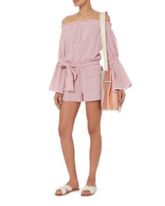 Alexis Carolina Off-The-Shoulder Romper
